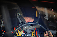 Feb 20, 2009; Fontana, CA, USA; NASCAR Sprint Cup Series driver Matt Kenseth during practice for the Auto Club 500 at Auto Club Speedway. Mandatory Credit: Mark J. Rebilas-
