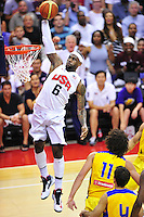 USA vs. Brazil, Men's Basketball - July 16, 2012