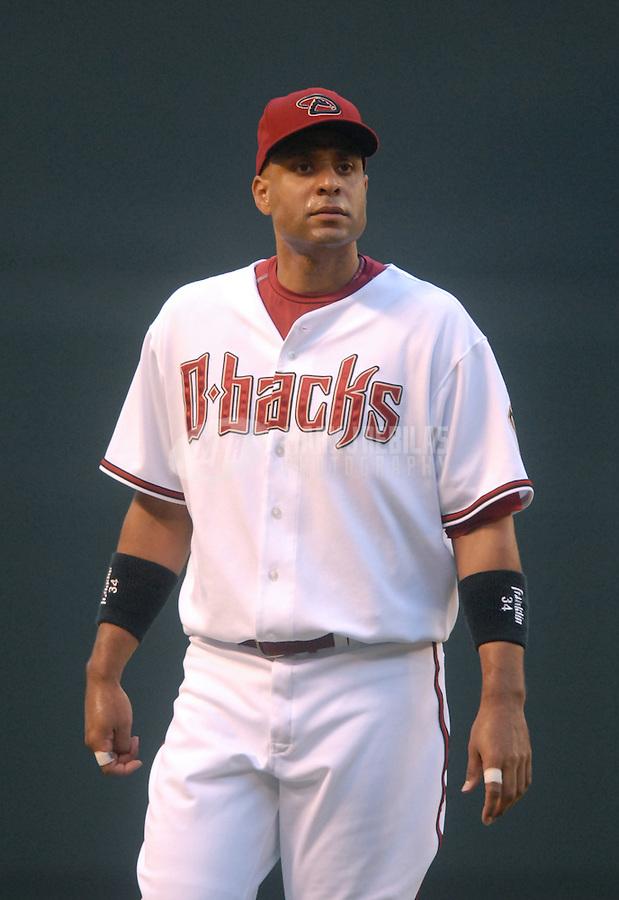 Aug 9, 2007; Phoenix, AZ, USA; Arizona Diamondbacks first baseman (34) Tony Clark against the Pittsburgh Pirates at Chase Field. Mandatory Credit: Mark J. Rebilas-US PRESSWIRE Copyright © 2007 Mark J. Rebilas