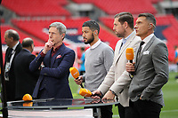 BT Sport panelists during the Vanarama National League Playoff Final between AFC Fylde & Salford City at Wembley Stadium, London, England on 11 May 2019. Photo by James  Gil.