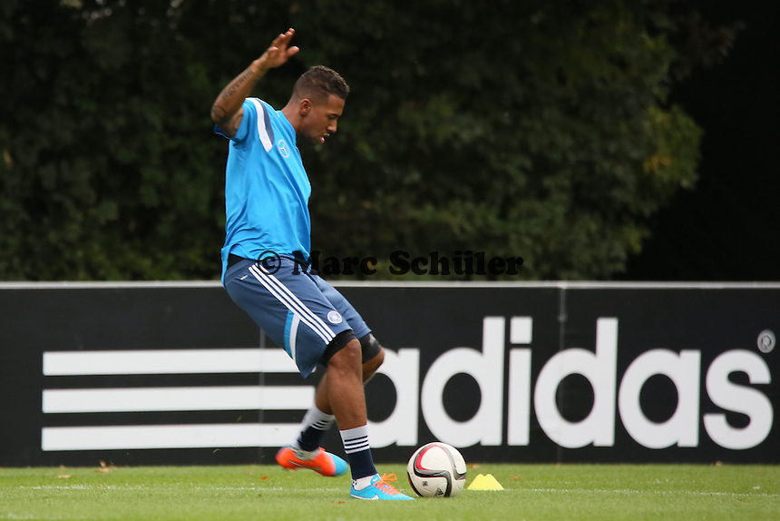 Jerome Boateng - Training der Deutschen Nationalmannschaft in Frankfurt