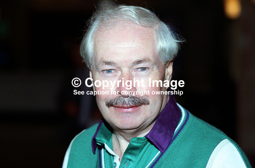 Doug Hoyle, MP, Labour Party, UK, taken annual conference, October 1992. 19921011DH.<br />