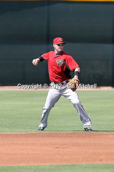 Stephen Drew - 2012 Arizona Diamondbacks extended spring training: Drew plays in an extended spring training game against the Colorado Rockies on June 2, 2012 at Salt River Fields in Scottsdale, Arizona as part of his rehabilitation from a broken ankle. (Bill Mitchell)