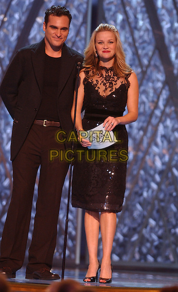 15 November 2005 - New York, New York - Reese Witherspoon and Joaquin Phoenix. 39th Annual CMA Awards held at Madison Square Garden. Photo Credit: Laura Farr/AdMedia