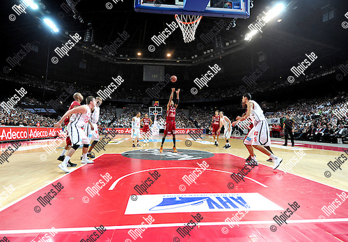 2012-02-15 / Basketbal / seizoen 2011-2012 / 1/4 finale Beker van België / Antwerp Giants - Charleroi / Sportpaleis / ..Foto: Mpics.be