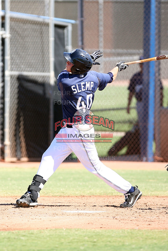 Houston Slemp - San Diego Padres - 2010 Instructional League.Photo by:  Bill Mitchell/Four Seam Images..