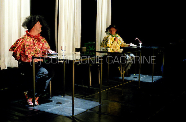 "Theatre company Theater Argus playing ""De Weduwen"" at the national Landjuweel festival (Belgium, 22/09/2005)"