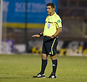 27/11/2010   Copyright  Pic : James Stewart.sct_jsp014_hamilton_v_st_mirren  .::  ISRAELI REFEREE MEIR LEVI ::.James Stewart Photography 19 Carronlea Drive, Falkirk. FK2 8DN      Vat Reg No. 607 6932 25.Telephone      : +44 (0)1324 570291 .Mobile              : +44 (0)7721 416997.E-mail  :  jim@jspa.co.uk.If you require further information then contact Jim Stewart on any of the numbers above.........