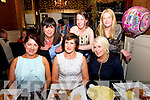 Jackie Casey from Ballymaquinn celebrating her 40th Birthday with friends. at Darcys Restaurant on Saturday  Pictured   Betty Healy, Jackie Casey, Magdalene Gentleman, Geraldine O'Regan, Mary Burke and Irene Conway