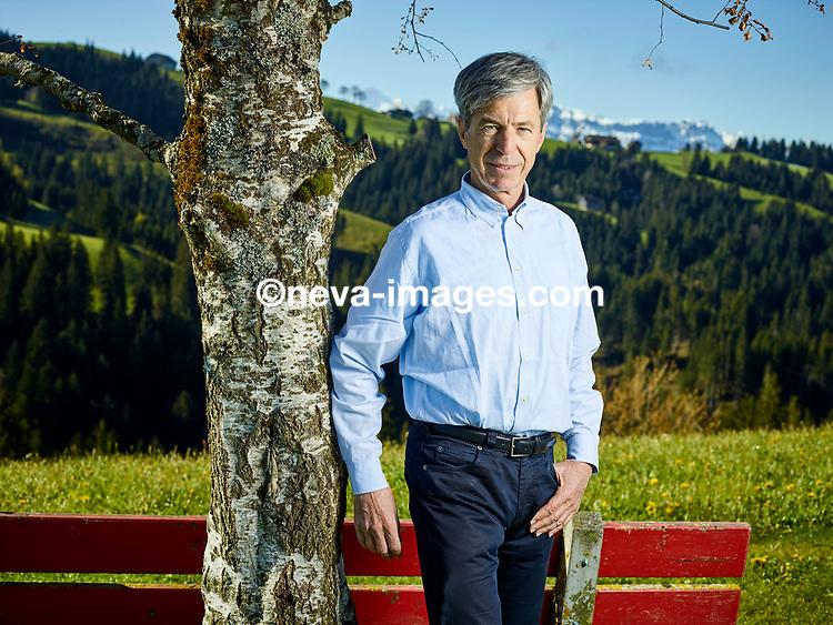 Trubschachen, le 5 mai 2017, Oskar Kambly héritier et directeur de la marque de Biscuits de l'emmental KAMBLY<br /> © sedrik nemeth