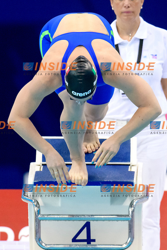 Ilaria BIANCHI ITA <br /> 100m Butterfly Women Preliminary<br /> London, Queen Elizabeth II Olympic Park Pool <br /> LEN 2016 European Aquatics Elite Championships <br /> Swimming<br /> Day 11 19-05-2016<br /> Photo Andrea Staccioli/Deepbluemedia/Insidefoto