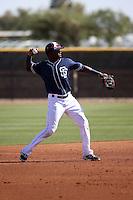 Ruddy Giron - San Diego Padres 2016 spring training (Bill Mitchell)