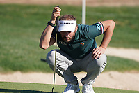 Joost Luiten (NED) on the 8th during Round 1 of the Abu Dhabi HSBC Championship 2020 at the Abu Dhabi Golf Club, Abu Dhabi, United Arab Emirates. 16/01/2020<br /> Picture: Golffile | Thos Caffrey<br /> <br /> <br /> All photo usage must carry mandatory copyright credit (© Golffile | Thos Caffrey)