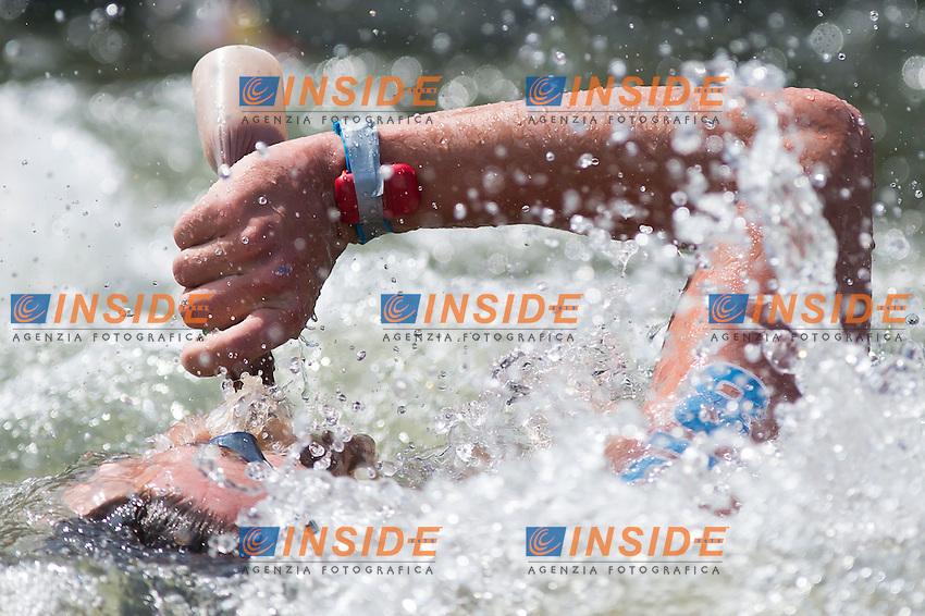 EVSIKOV Anton RUS<br /> Hoorn, Netherlands <br /> LEN 2016 European Open Water Swimming Championships <br /> Open Water Swimming<br /> Men's 10km<br /> Day 01 10-07-2016<br /> Photo Giorgio Perottino/Deepbluemedia/Insidefoto