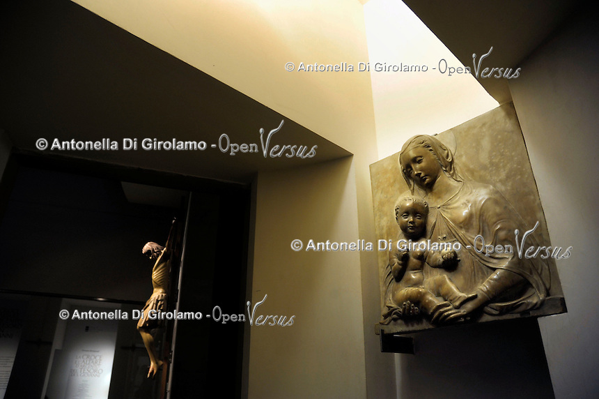 Madonna con Bambino. Museo dell'Opera del Duomo..Firenze.Florence.