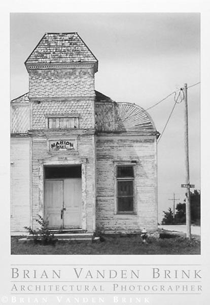MARION HALL<br /> Baileyville, Kansas &copy; Brian Vanden Brink, 1994