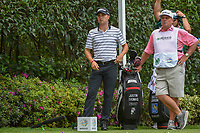 Justin Thomas (USA) looks over his par putt on 17 during round 2 of the World Golf Championships, Mexico, Club De Golf Chapultepec, Mexico City, Mexico. 2/22/2019.<br /> Picture: Golffile | Ken Murray<br /> <br /> <br /> All photo usage must carry mandatory copyright credit (© Golffile | Ken Murray)