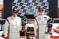 #6 Acura Team Penske Acura DPi, DPi: Juan Pablo Montoya, Dane Cameron, podium