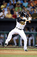 Jacksonville Suns pitcher Justin Nicolino (22) at bat during game three of the Southern League Championship Series against the Chattanooga Lookouts on September 12, 2014 at Bragan Field in Jacksonville, Florida.  Jacksonville defeated Chattanooga 6-1 to sweep three games to none.  (Mike Janes/Four Seam Images)
