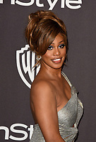 LOS ANGELES, CALIFORNIA - JANUARY 06: Laverne Cox attends the Warner InStyle Golden Globes After Party at the Beverly Hilton Hotel on January 06, 2019 in Beverly Hills, California. <br /> CAP/MPI/IS<br /> &copy;IS/MPI/Capital Pictures
