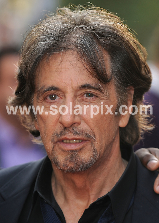 **ALL ROUND PICTURES FROM SOLARPIX.COM**.**WORLDWIDE SYNDICATION RIGHTS**.guests at the Odeon, Leicester Square for the premiere of the new film Righteous Kill. London, UK. 14th September 2008..This pic: Al Pacino..JOB REF: 7324 SSD     DATE: 14_09_2008.**MUST CREDIT SOLARPIX.COM OR DOUBLE FEE WILL BE CHARGED* *UNDER NO CIRCUMSTANCES IS THIS IMAGE TO BE REPRODUCED FOR ANY ONLINE EDITION WITHOUT PRIOR PERMISSION*.