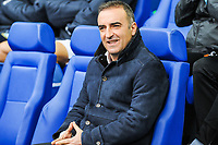 Sheffield Wednesday's manager Carlos Carvahal during the Sky Bet Championship match between Sheff Wednesday and Barnsley at Hillsborough, Sheffield, England on 28 October 2017. Photo by Stephen Buckley / PRiME Media Images.
