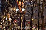 Market Street at Night, Philadelphia, Pennsylvania