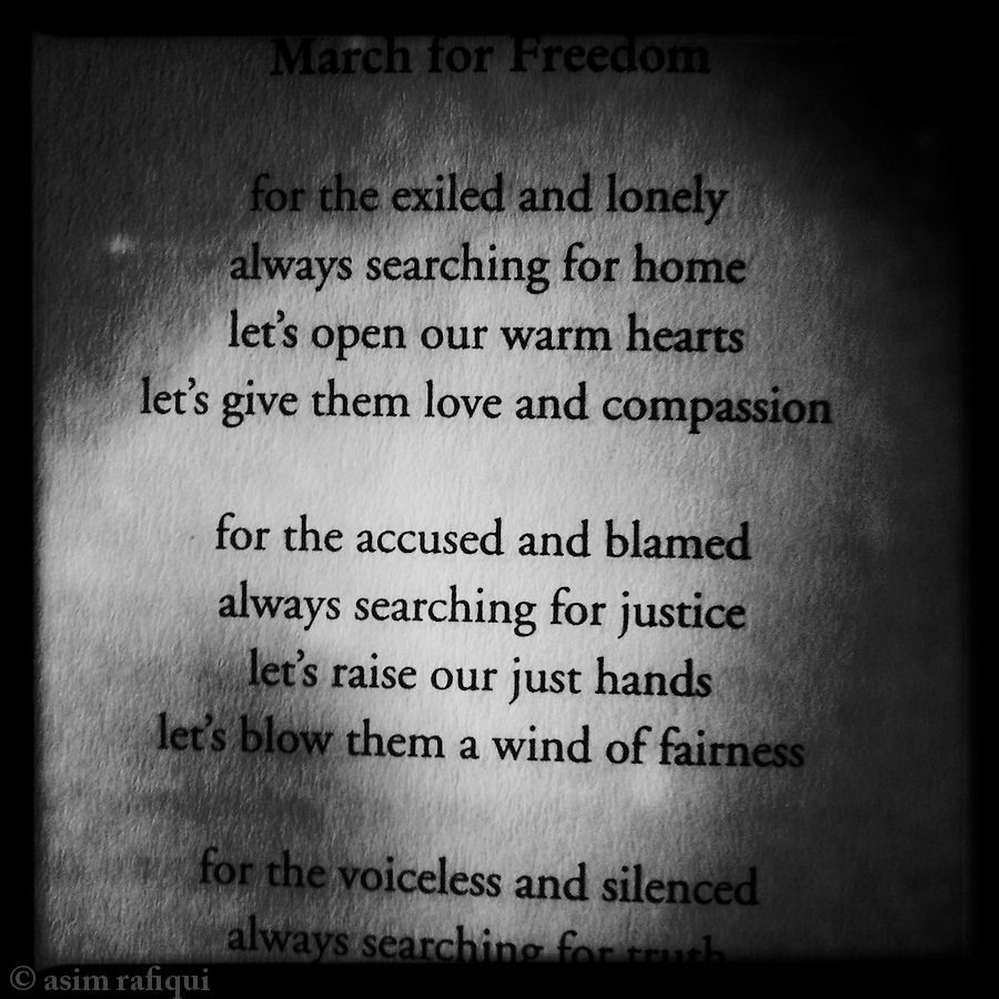 March For Freedom by Bhuchung D Sonam