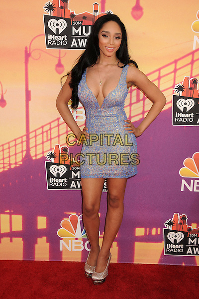 01 May 2014 - Los Angeles, California - Darnaa. iHeartRadio Music Awards 2014 - Arrivals held at The Shrine Auditorium.  <br /> CAP/ADM/BP<br /> &copy;Byron Purvis/AdMedia/Capital Pictures
