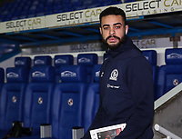 Blackburn Rovers' Derrick Williams pictured before the match<br /> <br /> Photographer Andrew Kearns/CameraSport<br /> <br /> The EFL Sky Bet Championship - Reading v Blackburn Rovers - Wednesday 13th February 2019 - Madejski Stadium - Reading<br /> <br /> World Copyright © 2019 CameraSport. All rights reserved. 43 Linden Ave. Countesthorpe. Leicester. England. LE8 5PG - Tel: +44 (0) 116 277 4147 - admin@camerasport.com - www.camerasport.com