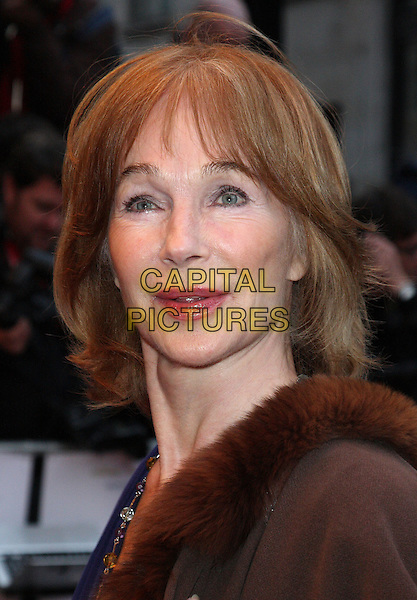 SHIRLEY ANNE FIELD.'The Kid' UK premiere held at the Odeon West End, Leicester Square, London, England..15th September 2010.headshot portrait brown fur.CAP/ROS.©Steve Ross/Capital Pictures
