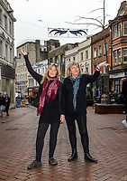 BNPS.co.uk (01202 558833)<br /> Pic: PhilYeoimans/BNPS<br /> <br /> Retailers Maddie Blew and Linda White.<br /> <br /> Old Christchurch Road in Bournemouth - three strands of light of which only two are working...<br /> <br /> Are these Britain's worst Christmas lights?<br /> <br /> Traders have slammed a council's 'horrible' Christmas lights on a high street at a seaside resort.<br /> <br /> The underwhelming display features three sorry strands of lights which hang above a road in Bournemouth, Dorset.<br /> <br /> They say that one of the strands of lights, which are nearly 20 years old, does not work.<br /> <br /> Shop owners on the stretch of road have labelled them 'unacceptable' in light of the hefty business rates they pay to Bournemouth, Christchurch and Poole Council (BCP).