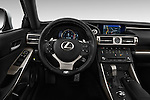 Car pictures of steering wheel view of a 2016 Lexus IS F Sport Line 4 Door Sedan Steering Wheel