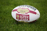 Picture by Paul Currie/SWpix.com - 07/10/2017 - Rugby League - Women's Super League Grand Final - Bradford Bulls v Featherstone Rovers - Regional Arena, Manchester, England - General view of the match ball