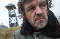 Emir Kusturica, filmmaker, actor and musician, poses for a portrait during the Küstendorf Film Festival, an annual event held during early January in the town of Drvengrad (also known as Küstendorf) in the Mokra Gora region of Serbia.