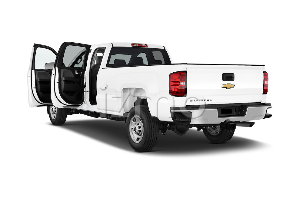 Car images of a 2015 Chevrolet Silverado 2500 HD Work Truck Double Cab LWB 4 Door  Doors
