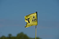 A flag pin during the 1st round at the PGA Championship 2019, Beth Page Black, New York, USA. 16/05/2019.<br /> Picture Fran Caffrey / Golffile.ie<br /> <br /> All photo usage must carry mandatory copyright credit (© Golffile   Fran Caffrey)