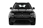 Car photography straight front view of a 2020 Mercedes Benz GLE AMG-Line 5 Door SUV