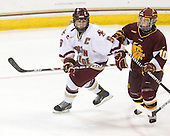 Tracy Johnson (BC - 5), Audrey Cournoyer (Minnesota-Duluth - 10) - The University of Minnesota-Duluth Bulldogs defeated the Boston College Eagles 3-0 on Friday, November 27, 2009, at Conte Forum in Chestnut Hill, Massachusetts.