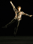 English National Ballet. Emerging Dancer competition. Aitor Arrieta joint winner of the Emerging Dancer award 2017. SelF<br /> Choreography: Aleix Ma&ntilde;e<br /> Music: Three pieces - Flat of Angels, pt4 read by Benedict Cumberbatch; Hospital by Max Richter; Palladio by Karl Jenkins
