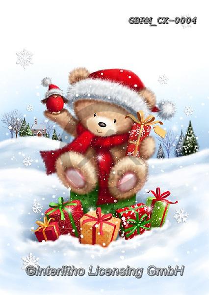 Roger, CHRISTMAS ANIMALS, WEIHNACHTEN TIERE, NAVIDAD ANIMALES, paintings+++++,GBRMCX-0004,#xa#