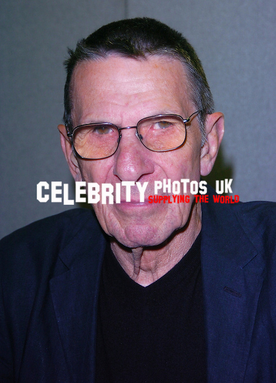 picture brian jordan/retna pictures..picture shows:leonard nimoy at COLLECTORMANIA 15 FESTIVAL MILTON KEYENS  AT THE MK DONS STADIUM  7 JUNE 2009