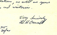BNPS.co.uk (01202 558833)<br /> Pic: AntiquarianAuctions/BNPS<br /> <br /> A fascinating letter from Lee Harvey Oswald applying for Communist Party membership months before he assassinated JFK has emerged for sale for £70,000.<br /> <br /> The former marine penned the one page handwritten correspondence to Gus Hall, general secretary of the US Communist Party, in the early months of 1963.<br /> <br /> In it, he states that, having followed their activities for several years, he wanted to join them to 'share in their glories and victories'.<br /> <br /> The recipient did not reply to Oswald as he thought the letter, which has several spelling mistakes, was the work of a US agent trying to infiltrate the organisation.
