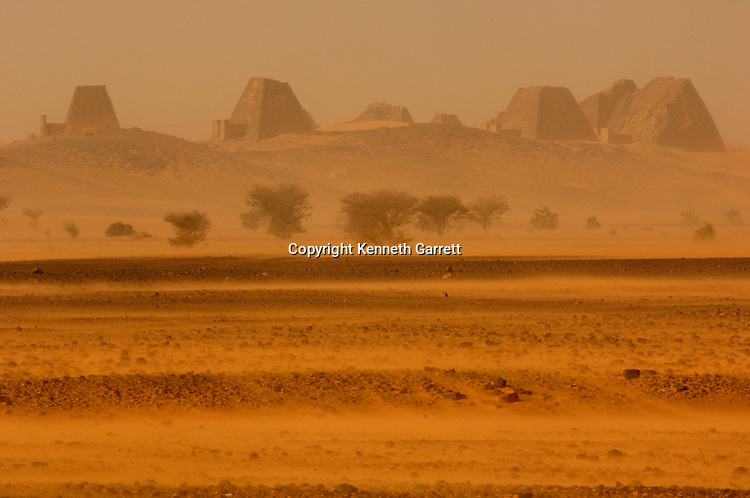 Meroe Pyramids, Begarawiya Pyramids, Sudan; Nubia; Black Pharaohs; Third Intermediate Period; 25th dynasty; Late Period; Greco-Roman Period; pyramid; Egypt; structure; desert