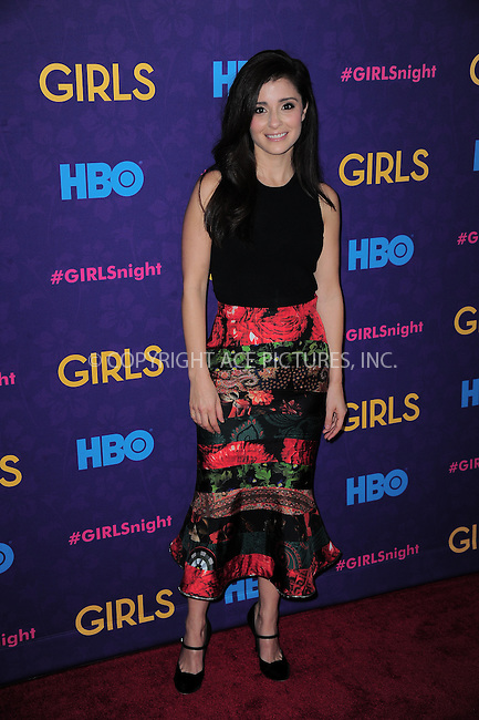 WWW.ACEPIXS.COM<br /> <br /> <br /> January 6, 2014, New York City, NY.<br /> <br /> <br /> Shiri Appleby arriving at the 'Girls' Season 3 Premiere at Jazz at Lincoln Center on January 6, 2014 in NEw York City, NY.<br /> <br /> <br /> <br /> <br /> By Line:  William Bernard/ACE Pictures<br /> <br /> ACE Pictures, Inc<br /> Tel: 646 769 0430<br /> Email: info@acepixs.com