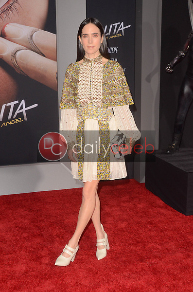 "Jennifer Connelly<br /> at the ""Alita Battle Angel"" Premiere, Village Theater, Westwood, CA 02-05-19<br /> David Edwards/DailyCeleb.com 818-249-4998"