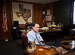 Texas Agriculture Commissioner Todd Staples at his office February 2012...Ben Sklar