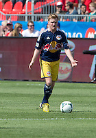 July 20, 2013: New York Red Bulls midfielder Dax McCarty #11 in action during a game between Toronto FC and the New York Red Bulls at BMO Field in Toronto, Ontario Canada.<br /> The game ended in a 0-0 draw.