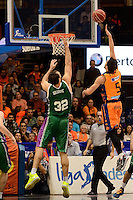 Ribas vs Golubovic<br /> Liga Endesa ACB - 2014/15<br /> J8<br /> Valencia Basket vs Unicaja