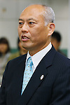 Yoichi Masuzoe, February 14, 2014 Matsuzoe tokyo governor was visitation with three people of Nunomura and Muto and Mori. Matsuzoe tokyo governor was sworn in on February 9th. at Tokyo Metropolitan Government Building,